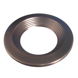 Utilitech Pro Bronze Baffle Recessed Light Trim (Fits Housing Diameter: 4-in)
