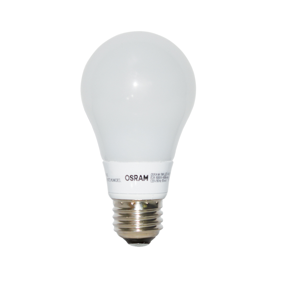 shop osram 6 watt 40w equivalent a19 medium base dimmable soft white led bu. Black Bedroom Furniture Sets. Home Design Ideas