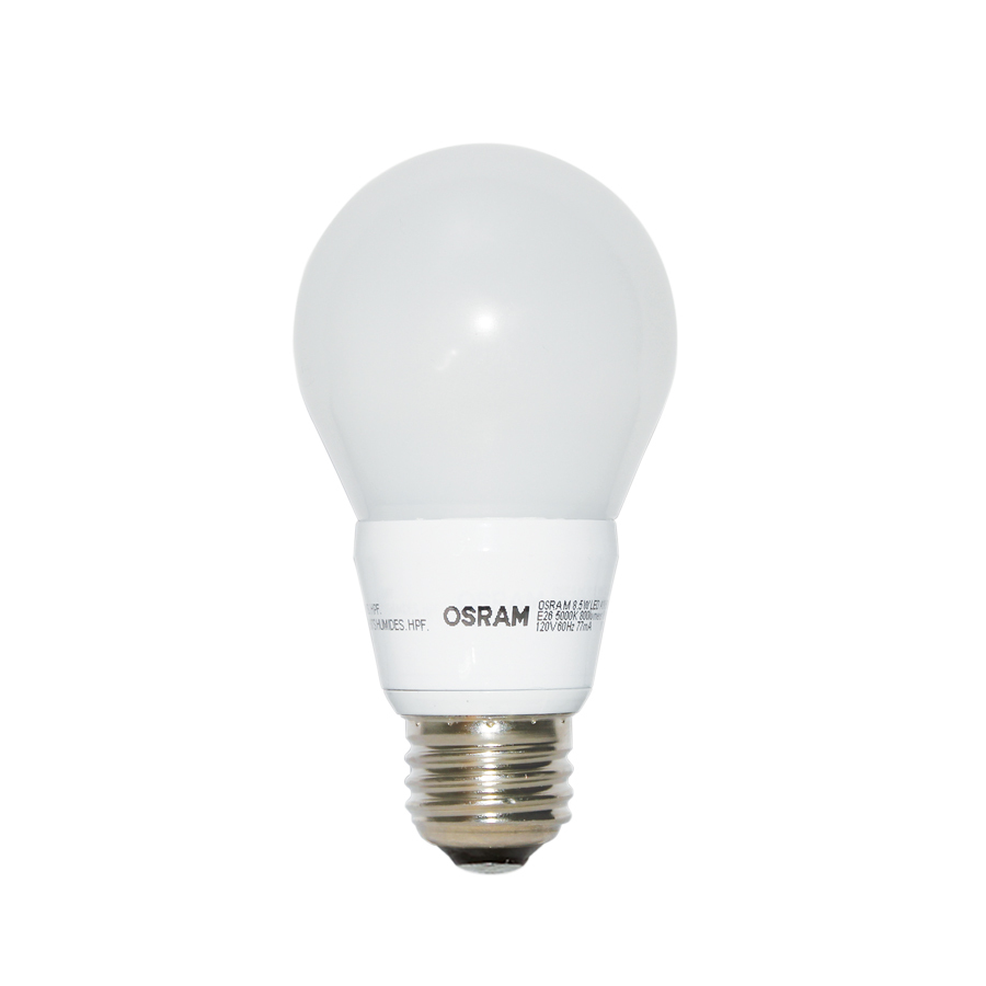 Shop Osram 8 5 Watt 60w Equivalent A19 Medium Base Dimmable Daylight Led Bulb Energy Star At