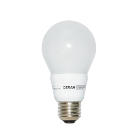 shop osram 8 5 watt 60w equivalent 5000k a19 medium base e 26 dimmable daylight indoor led. Black Bedroom Furniture Sets. Home Design Ideas
