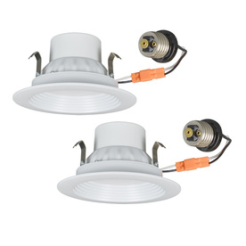 Utilitech Pro 2 Pack White Led Recessed Downlights