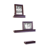 allen + roth 5-Piece Set 17.62-in Wood Wall Mounted Shelving