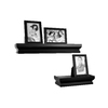 allen + roth 19.5-in W x 5.25-in H x 5.625-in D Wood Wall Mounted Shelving