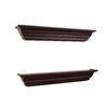 allen + roth 24.25-in Wood Wall Mounted Shelving