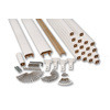 AZEK 72-in White Composite Deck Railing Kit