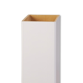AZEK White Composite Deck Post Sleeve (Common: 5-in; Actual: 5-in x 54-in)