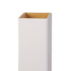 AZEK 5-in x 5-in x 54-in White Composite Deck Post Sleeve