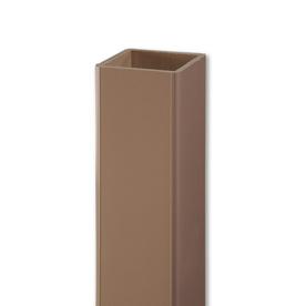 AZEK Brownstone Composite Deck Post Sleeve (Common: 5-in; Actual: 5-in x 54-in)