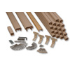 AZEK 72-in Brownstone Composite Deck Railing Kit