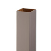 AZEK Slate Gray Composite Deck Post Sleeve (Common: 5-in; Actual: 5-in x 39-in)
