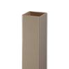 AZEK 5-in x 5-in x 54-in Clay Composite Deck Post Sleeve