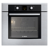 Bosch 300 Series 30-in Self-Cleaning Single Electric Wall Oven (Stainless)