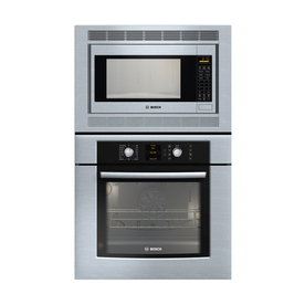 Bosch 29-3/4-in Microwave Wall Oven Combo (Stainless)