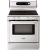 Bosch 700 Series 30-in Freestanding Smooth Surface 4.6 cu ft Self-Cleaning Convection Electric Range (Stainless)