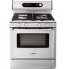 Bosch 30-in Freestanding 4.6 cu ft Convection Gas Range (Stainless)