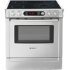 Bosch 30-in Smooth Surface 4.6 cu ft Self-Cleaning Slide-In Convection Electric Range (Stainless)