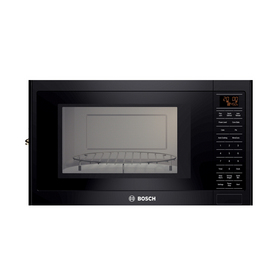 Bosch 1.5-cu ft Built-In Convection Microwave with Sensor Cooking Controls (Black)