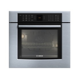 Bosch 30-in Convection Single Electric Wall Oven (Stainless)