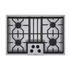 Bosch 500 Series 30-in 4-Burner Gas Cooktop (Stainless)
