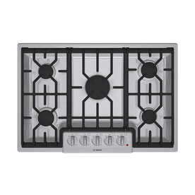 Bosch 800 Series 30-in 5-Burner Gas Cooktop (Stainless)