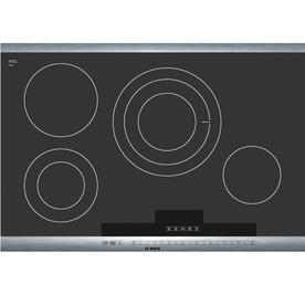 Bosch 800 Series 30-in Smooth Surface Electric Cooktop (Stainless)
