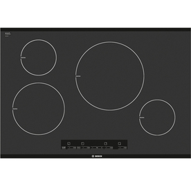 Bosch 300 Series 30-in Smooth Surface Induction Electric Cooktop (Black)