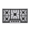 Bosch 300 Series 36-in 5-Burner Gas Cooktop (Stainless)