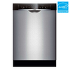 Bosch 53-Decibel Built-In Dishwasher (Stainless Steel) (Common: 24-in; Actual 23.625-in) ENERGY STAR