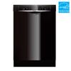 Bosch 53-Decibel Built-In Dishwasher (Black) (Common: 24-in; Actual 23.625-in) ENERGY STAR