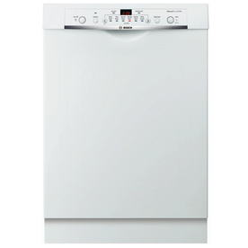 Bosch Ascenta 50-Decibel Built-In Dishwasher (White) (Common: 24-in; Actual: 23.625-in)
