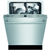 Bosch Ascenta 49-Decibel Built-In Dishwasher (Stainless Steel) (Common: 24-in; Actual 23.625-in) ENERGY STAR