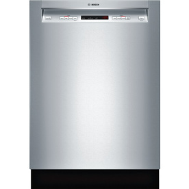 Bosch 300 Series 46-Decibel Built-In Dishwasher (Stainless Steel) (Common: 24-in; Actual 23.625-in) ENERGY STAR