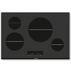 Bosch 800 Series Smooth Surface Induction Electric Cooktop (Black) (Common: 30-in; Actual 31-in)