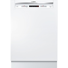 Bosch 300 Series 46-Decibel Built-In Dishwasher (White) (Common: 24-in; Actual 23.625-in) ENERGY STAR
