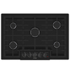 Bosch 800 Series 5-Burner Gas Cooktop (Black) (Common: 30-in; Actual: 31-in)