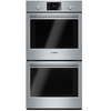 Bosch 500 Series Convection Double Electric Wall Oven (Steel-Stainless) (Common: 27-in; Actual: 26.75-in)