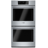 Bosch 800 Series Convection Double Electric Wall Oven (Steel-Stainless) (Common: 27-in; Actual: 26.75-in)