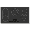 Bosch 800 Series 5-Element Smooth Surface Electric Cooktop (Black) (Common: 36-in; Actual 37-in)