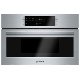 Bosch 800 Series 1.6-cu ft Built-In Convection Microwave with Sensor Cooking Controls (Stainless Steel)