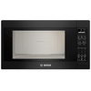Bosch 500 Series 2.1-cu ft Built-In Microwave with Sensor Cooking Controls (Black)
