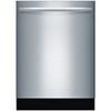 Bosch 800S 44-Decibel Built-In Dishwasher (Stainless Steel) (Common: 24-in; Actual: 23.5625-in) ENERGY STAR
