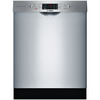 Bosch 800 Series 44-Decibel Built-In Dishwasher (Stainless Steel) (Common: 24-in; Actual: 23.5625-in) ENERGY STAR