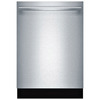 Bosch Ascenta 46-Decibel Built-In Dishwasher (Stainless Steel) (Common: 24-in; Actual: 23.563-in)