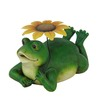  10-in H Frog Design Garden Statue