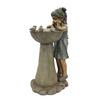 Garden Treasures Girl with Birds Indoor/Outdoor Fountain with Pump