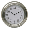Garden Treasures 14-in Dia Galvanized Clock