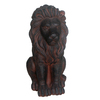  19.63-in H Lion Design Garden Statue