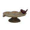  5.63-in H Birdbath Design Garden Statue