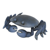  3.63-in H Crab Design Garden Statue
