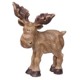 15-in Moose Design Garden Statue